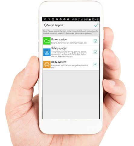bilde av golo norge app inspect funksjon